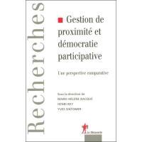 Gestion de proximité et démocratie participative une perspective comparative