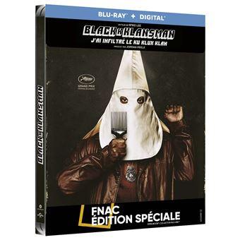BlacKkKlansman : J'ai infiltré le Ku Klux Klan Steelbook Edition Fnac Blu-ray