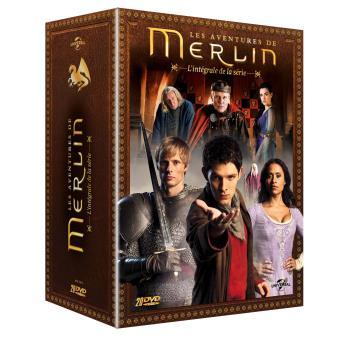 MerlinMerlin L'intégrale de la série 2016 Coffret DVD
