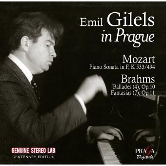Emil Gilels à Prague