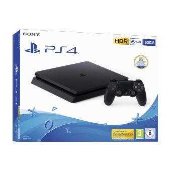 PS4 500GB BLACK +  THAT'S YOU