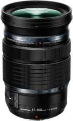 objectif hybride olympus m zuiko digital ed 12 100 mm f 4 0 is pro micro 4 3 noir objectif. Black Bedroom Furniture Sets. Home Design Ideas