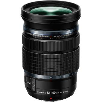 objectif hybride olympus m zuiko digital ed 12 100 mm f 4 0 is pro micro 4 3 noir zoom. Black Bedroom Furniture Sets. Home Design Ideas