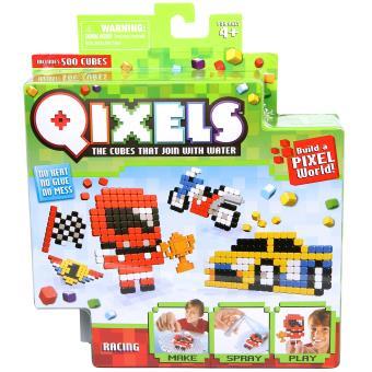 Mini kit créatif Qixels Kanaï Kids 4 créations Racing