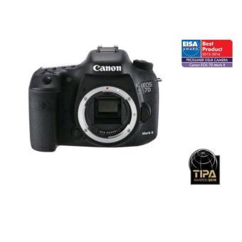 Reflex Canon EOS 7D Mark II Boîtier Nu + Adaptateur Wi-Fi Canon W-E1