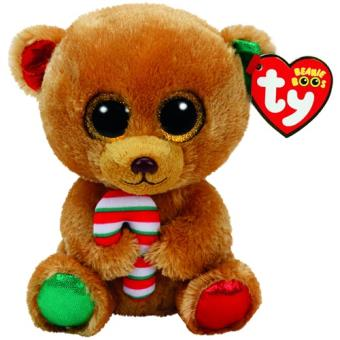 TY BEANIE BOO'S SMALL - BELLA L'OURS BRU