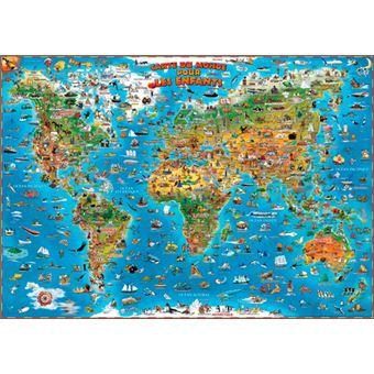 carte du monde pour enfants carte sans barres collectif achat livre fnac. Black Bedroom Furniture Sets. Home Design Ideas