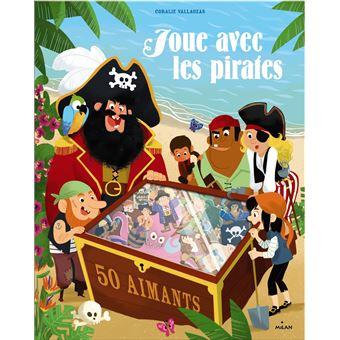 Joue avec les pirates - 50 aimants
