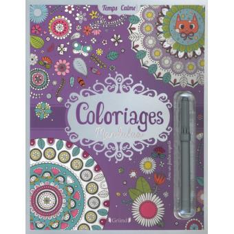 Coloriages Mandalas Broche Rousseau Stephanie Achat Livre Fnac