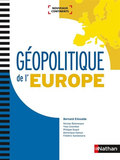 Géopolitique de l'Europe - Format : ePub 3 - 9782098127340 - 27,99 €