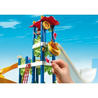 Playmobil Summer Fun 6669 Parc Aquatique Avec Toboggans Géants   Playmobil    Achat U0026 Prix | Fnac