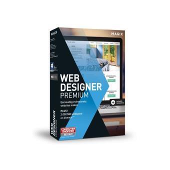 Magix Web Designer 12 Premium - NL