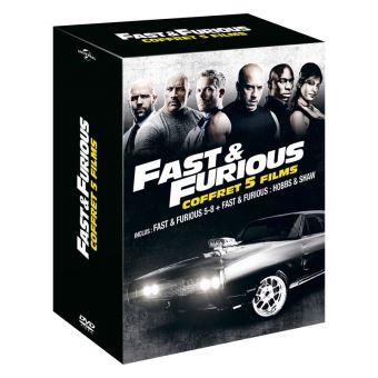 Fast and FuriousCoffret Fast And Furious 5 à 8 et Hobbs And Shaw DVD