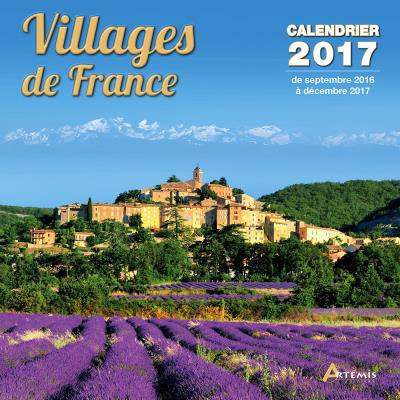 Calendrier 2017 Villages de France