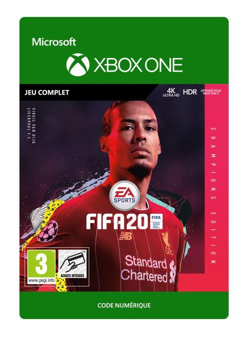 Code de téléchargement FIFA 20 Champions Edition Xbox One
