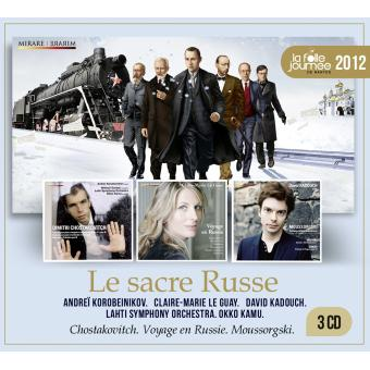 La folle journeée 2012 - Le sacre russe Coffret 3 CD