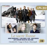 La folle journeée 2012 - Le sacre russe Coffret 3 CD