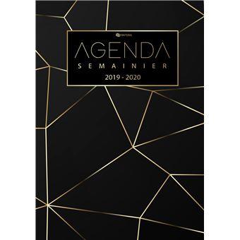 Calendrier De Decembre 2020.Agenda 2019 2020 Agenda Semainier Et Calendrier Aout 2019 A Decembre 2020 Agenda Journalier