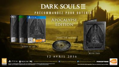 Dark Souls III Apocalypse Edition Xbox One