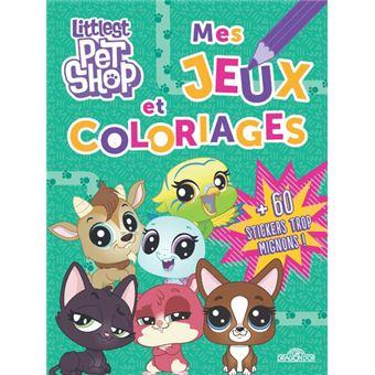 Littlest Petshop Littlest Pet Shop Mes Jeux Et Coloriages