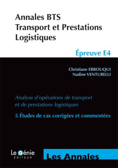 Annales BTS Transport et prestations logistiques