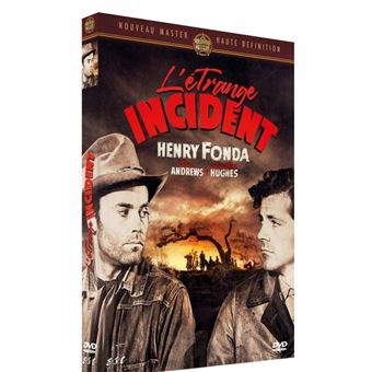 L'Étrange Incident DVD