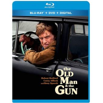The Old Man and The Gun Blu-ray