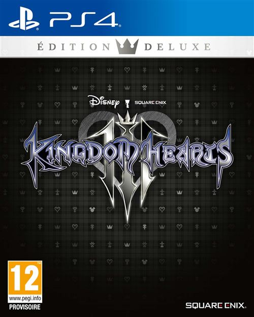 Kingdom Hearts III Edition Deluxe PS4