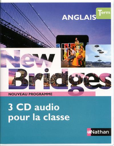 New Bridges Terminales 2012 - cd audio classe