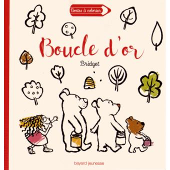 Contes A Colorier Boucle Dor Et Les Trois Ours Boucle Dor Et Les