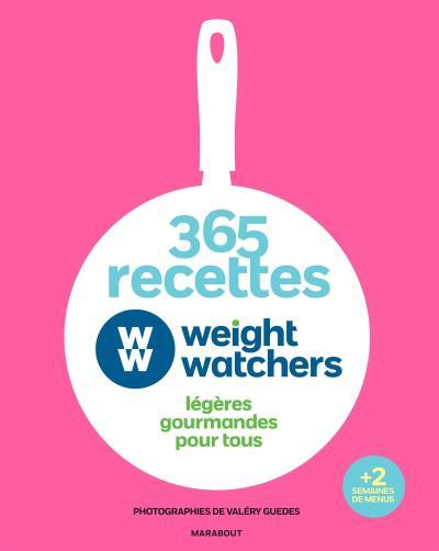 365 recettes Weight Watchers Légères gourmandes pour tous , relié ,  Collectif , Achat Livre