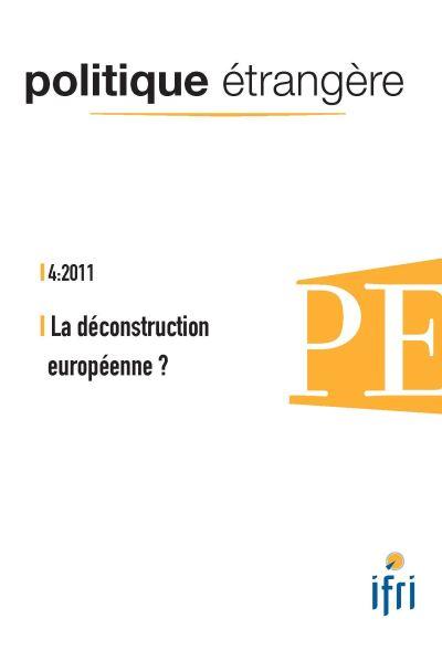 La déconstruction européenne