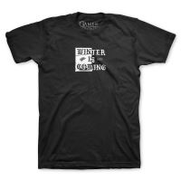Tee-Shirt Game Of Thrones- Winter Is Coming  Noir Homme Taille M