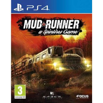 Mud Runner: A Spintires Game MIX PS4