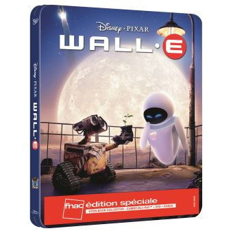 WALL-E-FR-FNAC-STEELBOOK BLURAY+DVD