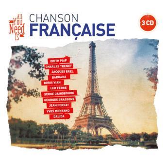 Chanson Française Coffret Digisleeve