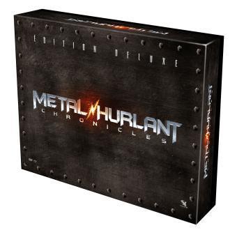 Metal Hurlant ChroniclesMetal Hurlant Chronicles L'intégrale de la saison 1 Edition Deluxe limitée Combo Blu-ray DVD