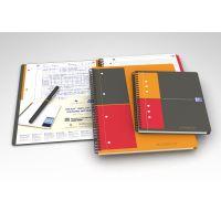 Oxford Black n Red 400047653 Cahier /à spirales A4 140 pages Noir