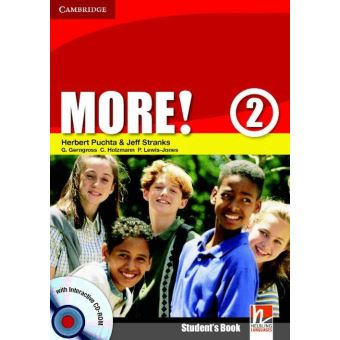 MORE ! 1/E LEVEL 2 - STUDENT'S BOOK WITH CD-ROM