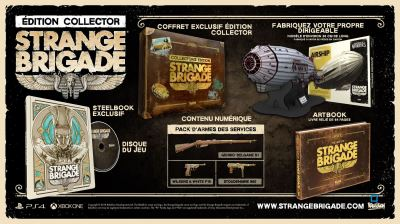 Strange Brigade Edition Collector PS4