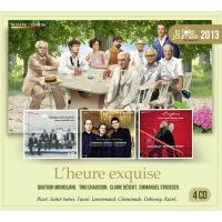 La folle journée 2013 - L'heure exquise Coffret 4 CD