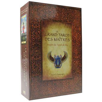 Grand Tarot des Maîtres - Inspiré du Tarot de MU - Coffret
