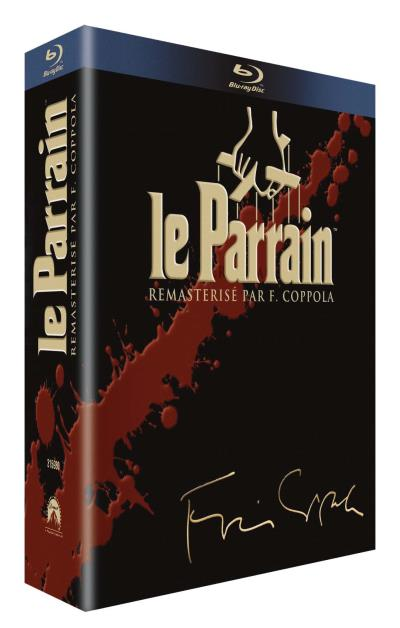 le parrain coffret de la trilogie blu ray francis ford coppola blu ray achat prix fnac. Black Bedroom Furniture Sets. Home Design Ideas