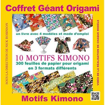 Coffret Géant Origami Motifs Kimono