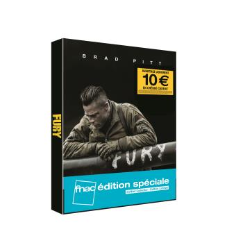 Fury Blu-ray Steelbook Edition Spéciale Fnac