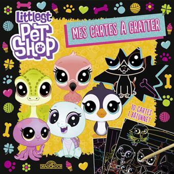 Littlest PetshopMes cartes à gratter Jaune
