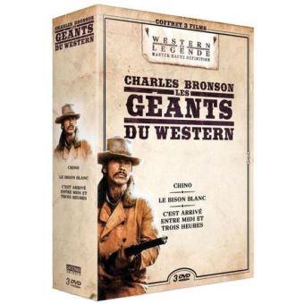 Coffret Charles Bronson DVD