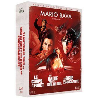 Coffret Bava 3 Films Blu-ray