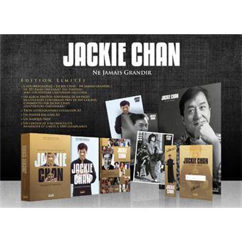 Coffret Jackie Chan Ne Jamais Grandir Edition Collector
