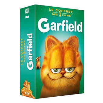 GarfieldCoffret Garfied 3 films DVD